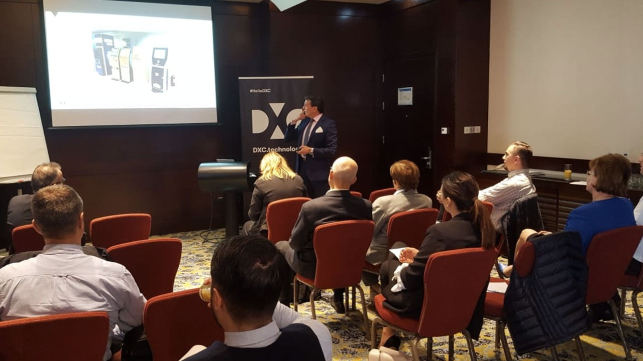 Eveniment corporate Business Breakfast DXC Technology