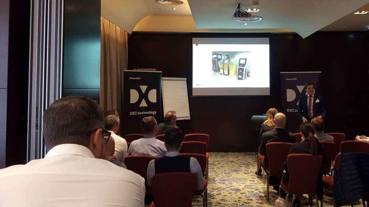 Eveniment business DXC Techniology breakfast